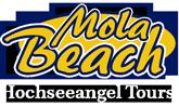Hochseeangeln auf Dorsch MolaBeach